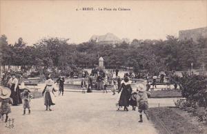 BREST, La Place du Chateau, Finistere, France, 00-10s