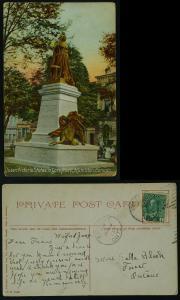 Victoria Statue Hamilton 1913