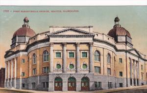 First Presbyterian Church, SEATTLE, Washington, 1900-1910s