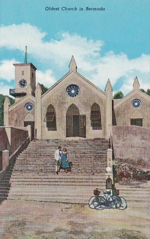 Bermuda St George St Peter's Church Oldest Church In Bermuda