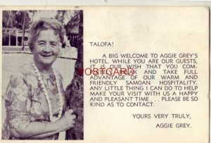 TALOFA! A BIG WELCOME TO AGGIE GREY'S HOTEL TAKE ADVANTAGE OF SAMOAN HOSPITALITY