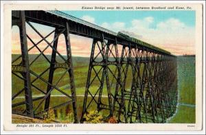 Kinzua Bridge, Mt Jewett PA