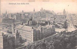 Edinburgh from Calton Hill Scotland, UK Unused