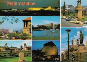 Pretoria The Capital City South Africa - Colour multi-view postcard by ART