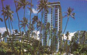 Hawaii Waikiki Tower Of Reef Hotel Waikiki Beach