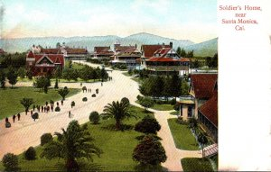 California Santa Monica Soldiers Home Grounds