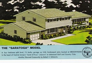 The SARATOGA Model Home , 50-60s ; Lakewood , New Jersey
