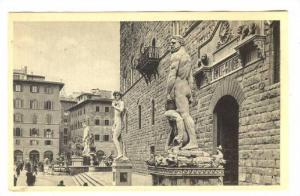 Piazza della Signoria Ercole e Caco,  Firenze, Italy, 00-10s