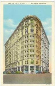 Piedmont Hotel (Exterior), Atlanta, Georgia, PU-1946