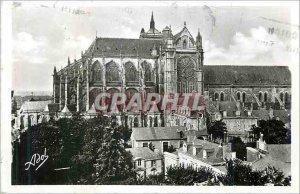 Modern Postcard Le Mans Cathedral Saint Julian