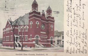 Illinois Rockford Swedish Free Church 1909