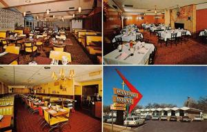 Wichita Kansas Town And Country Lodge Restaurant Antique Postcard K93744