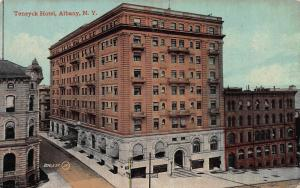 Teneyck Hotel, Albany, New York, Early Postcard, Used in 1912
