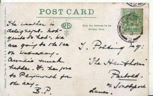 Genealogy Postcard - Polding - The Hawthorn - Southport - Lancs - Ref 5258A