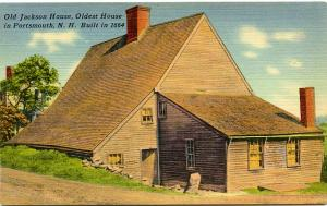 The Old Jackson House - Oldest House in Portsmouth NH, New Hampshire - Linen
