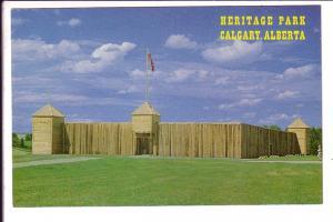 Heritage Park, Calgary, Alberta, Fort, Photo WJL Gibbons