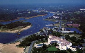 ME - Kennebunkport. Kennebunk River, Aerial View