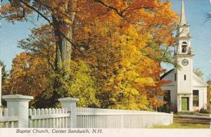 New Hampshire Center Sandwich Baptist Church