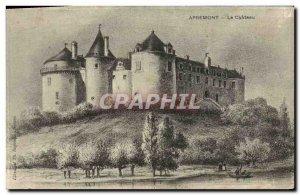 Old Postcard Apremont Le Chateau