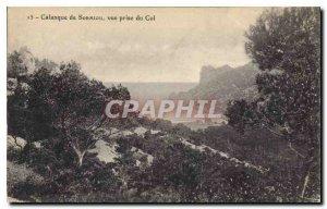 Old Postcard Calanque Sormiou shooting Pass