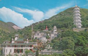Tiger Balm Gardens, Seven Storeyed Pagoda, HONG KONG, China, 50-70´s