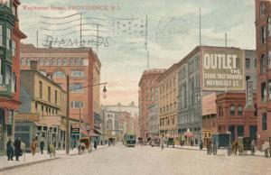PROVIDENCE , Rhode Island , 1913 ; Weybosset Street