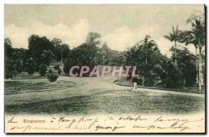 Old Postcard Singapore