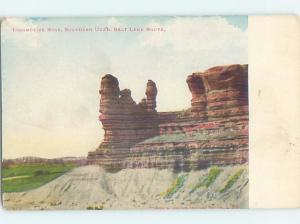 Pre-1907 LOCOMOTIVE ROCK ON THE SALT LAKE ROUTE Salt Lake City Utah UT A1600