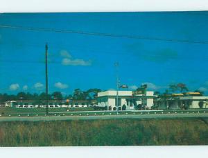 Unused Pre-1980 MOTEL SCENE St. Petersburg Florida FL hk0640-12
