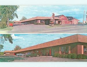 Unused Pre-1980 OLD CARS & WHITCOMB'S MOTEL Brewer Maine ...