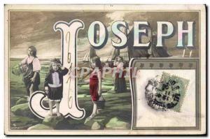 Old Postcard Joseph Surname