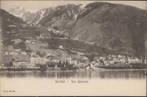 Territet vue generale Suisse