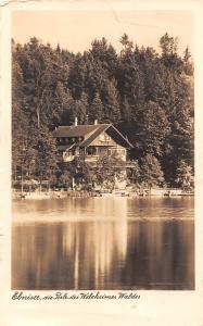 Ebnisee die Perle des Welrheimer Waldes, Hotel u. Pension Ebnisee Gasthaus