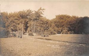 D46/ Springfield Minnesota Mn Real Photo RPPC Postcard 1909 River Side Park
