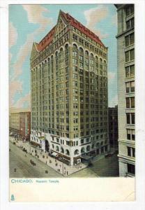 2227  Tucks no.2206   IL Chicago    Masonic Temple