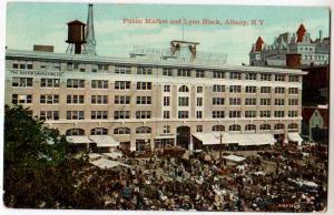 Public Market & Lyon Block, Albany NY