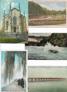 Canada Quebec Niagara Montreal Ontario and more Postcard Lot of 10 01.13