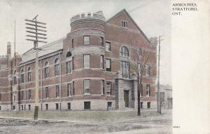 STRATFORD , Ontario , Canada , 00-10s ; Armouries