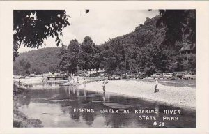Missouri Roaring River State Park Fishing Water Real Photo RPPC