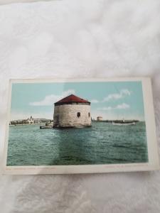 Antique postcard Martello Tower, Kingston Ontario  6209