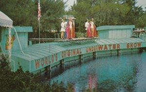 WEEKIWACHEE SPRINGS , Florida , 1950-60s ; Underwater Theatre