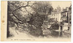 METZ, France, 00-10s    Canal de la Moselle