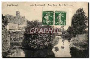 Lamballe Old Postcard Notre Dame Edges Gouessant