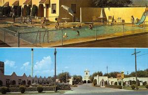 Salt Lake City Utah Mission Motor Lodge Multiview Vintage Postcard K825837