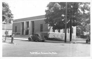 Greenville Michigan Post Office Real Photo Antique Postcard K64699