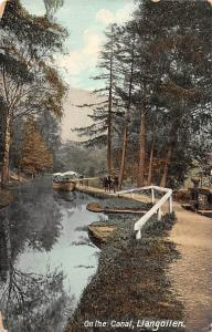 Wales Llangollen On the Canal Boat, Souvenir