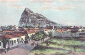 Gibraltar Rock from Lima Bull Ring,Gibraltar,00- 10s