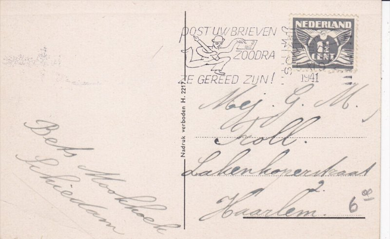 SCHIEDAM , South Holland , Netherlands , 1941 ; Rotterdamschedijk