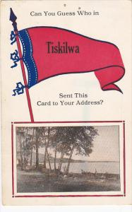 Can You Guess Who In Tiskilwa 1914 Pennant Flag