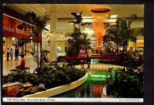 FL Palm Beach Florida Mall Shopping Center Jordan Marsh Store Postcard